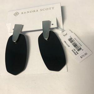 Kendra Scott - Aragon Silver Drop Earrings